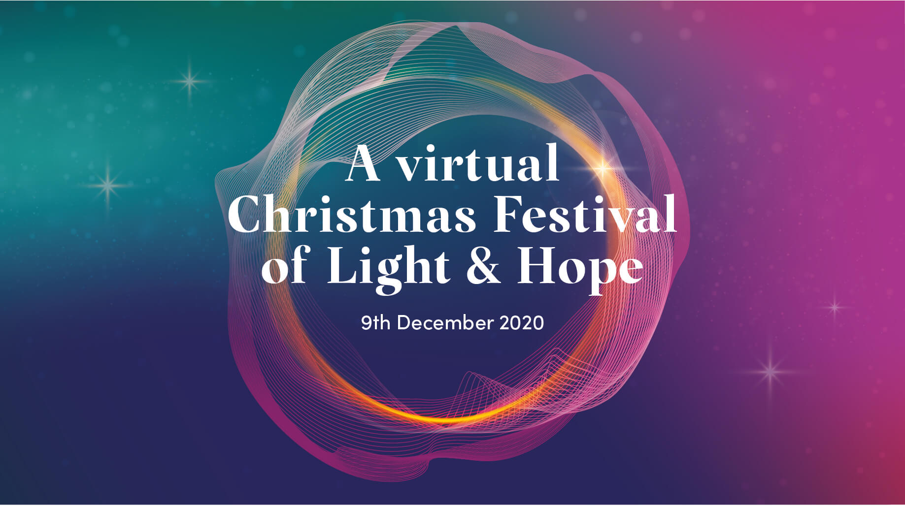 A virtual Christmas Festival of Light & Hope