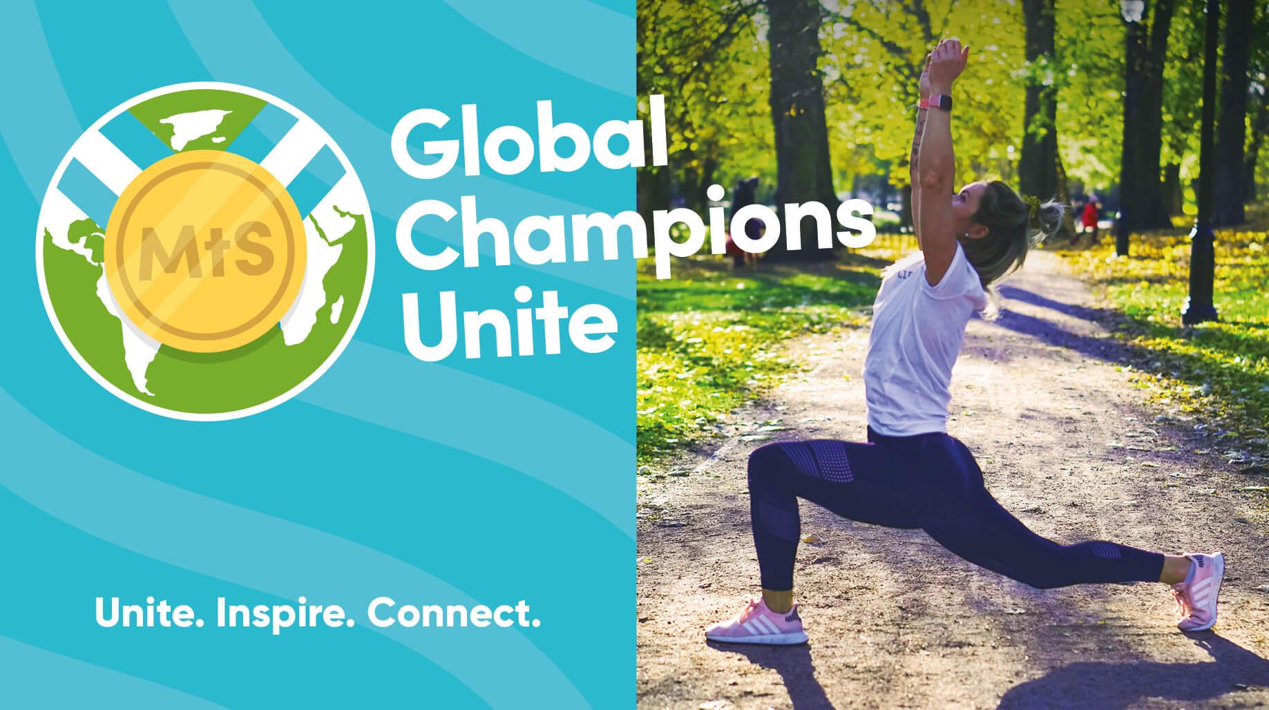 GLOBAL CHAMPIONS UNITE!